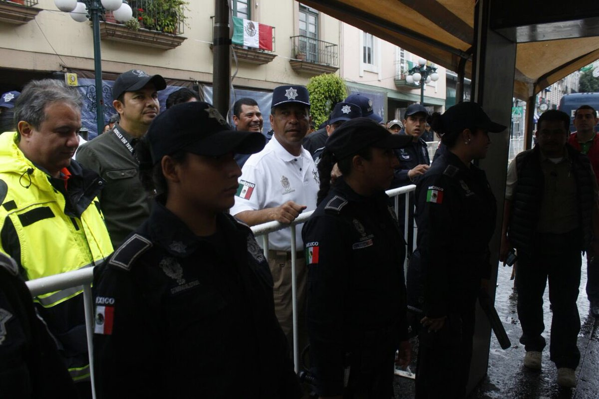Supervisa SSP filtros de seguridad en Xalapa para celebración del grito de Independencia