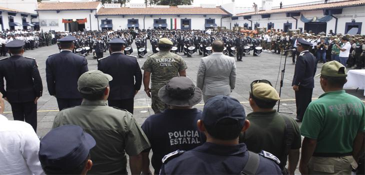 Reconoce Gobernador del Estado labor de la Policía Estatal