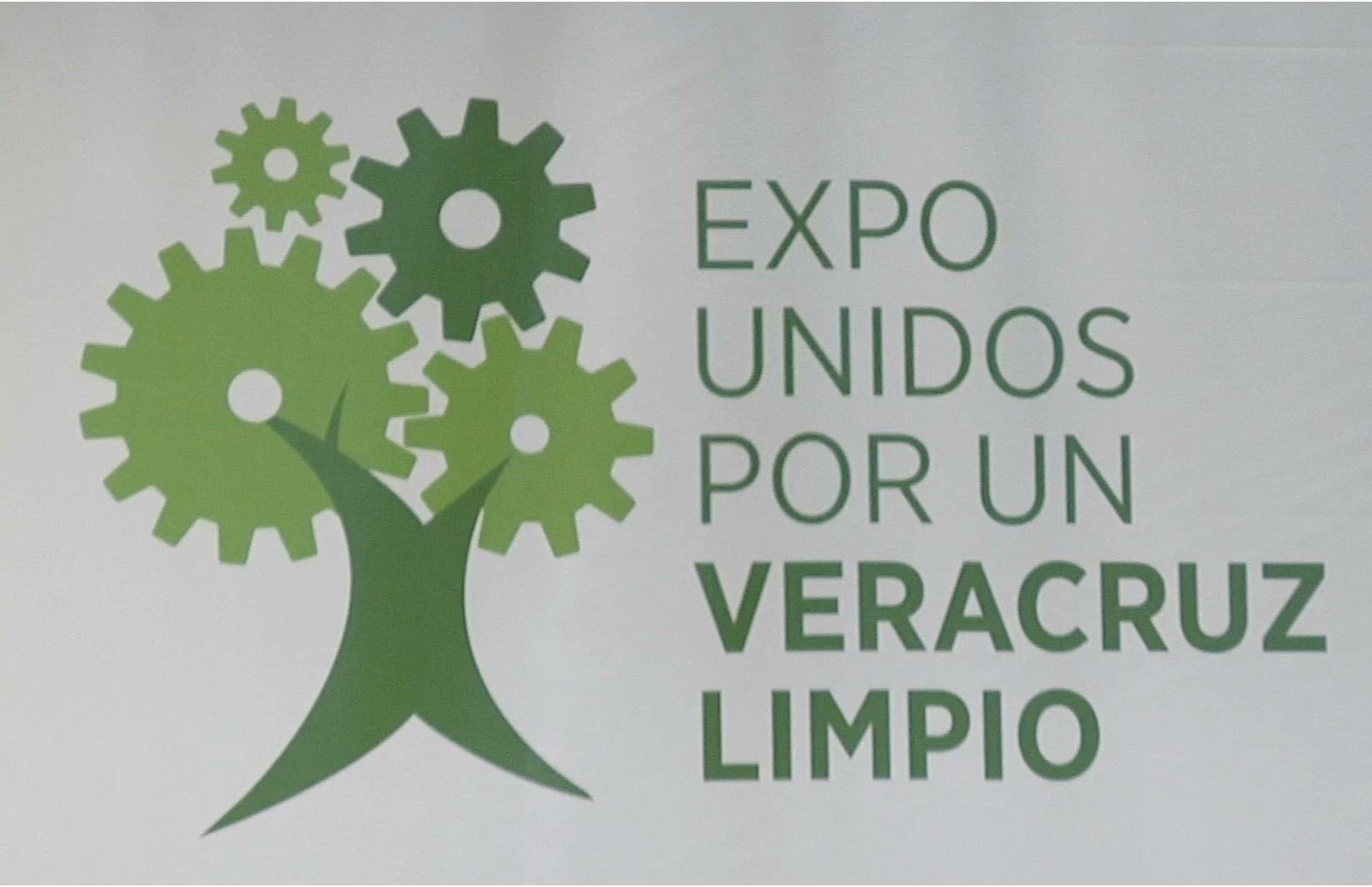 Realizarán la Expo Unidos por un Veracruz limpio