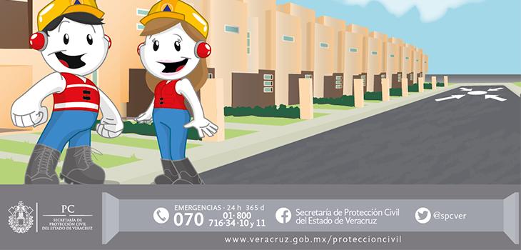 No se reportan afectaciones en Veracruz por sismo la mañana de este 15 de septiembre: PC