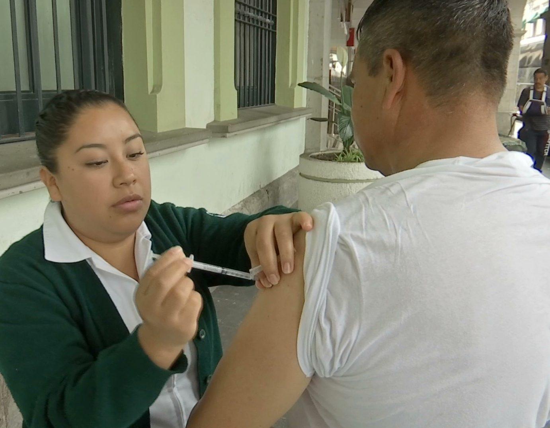 Distribuyen más de 13 millones de dosis contra la influenza en el país