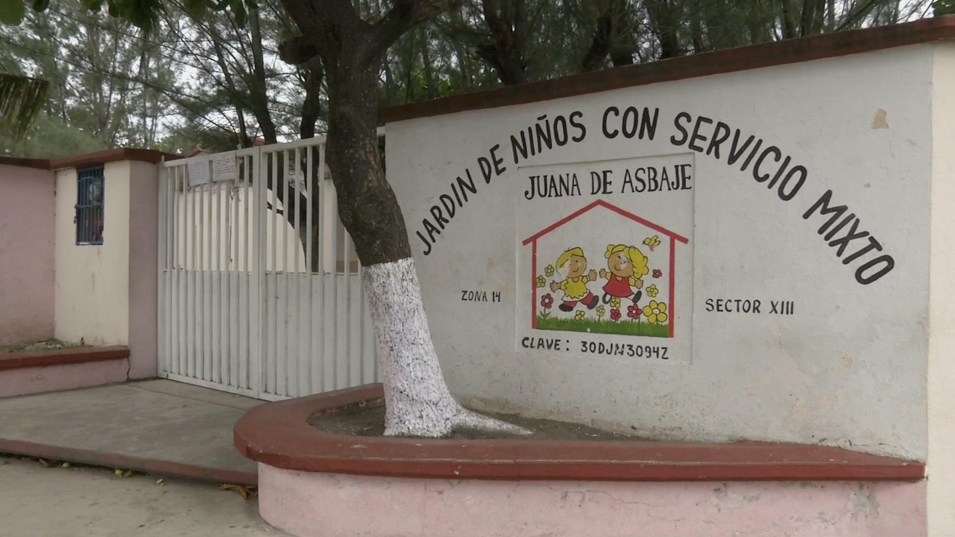 """Vuelven a robar el jardín de niños """"Juana de Asbaje"""""""