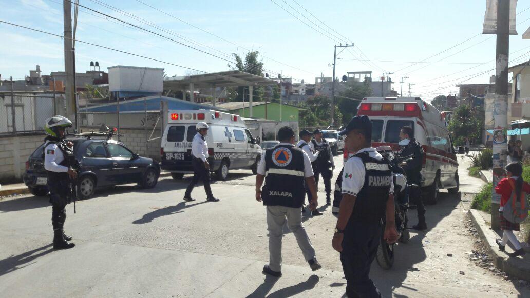 Evacúan jardín de niños en Xalapa