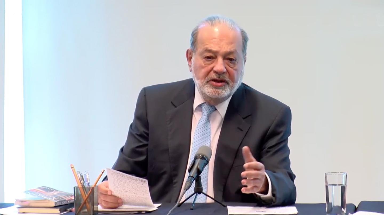 Carlos Slim, da positivo a COVID-19
