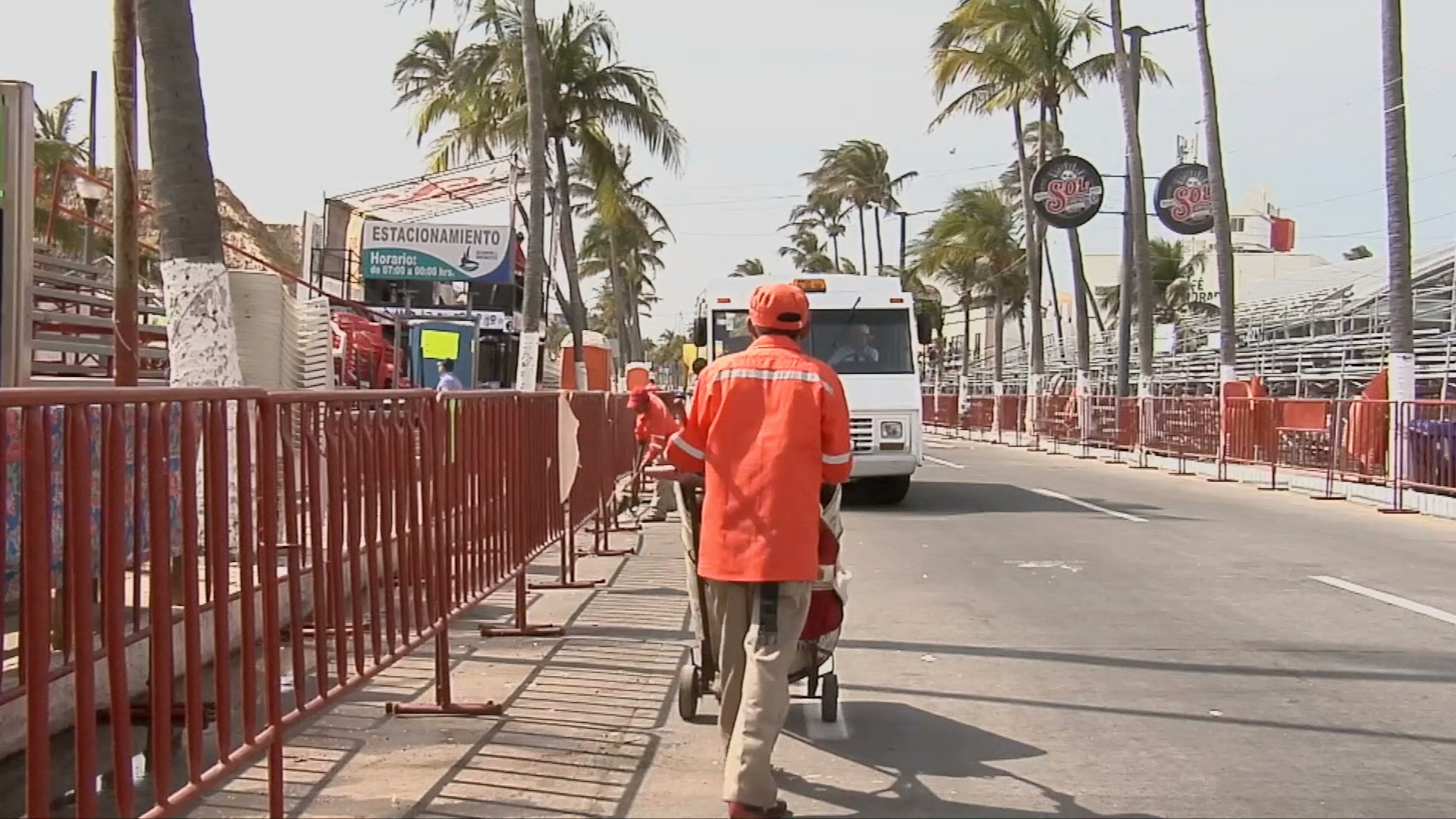 Cien personas trabajarán jornadas dobles durante el Carnaval de Veracruz