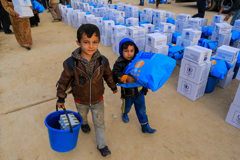 Equipos humanitarios temen por la vida de 750 mil personas en el oeste de Mosul