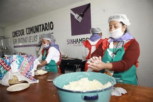 Reactivan proyectos productivos del programa Sin Hambre, en el norte