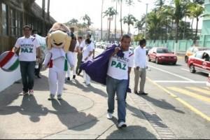 """Integrantes del programa federal """"México Nos Mueve La Paz», denuncian falta de pago de salario"""