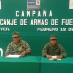 En Coatzacoalcos se instala campaña de canje de armas