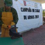 En San Rafael se realiza campaña Canje de Armas