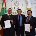 Nombra FGE a Fiscales Regionales de Coatzacoalcos y Tuxpan