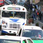 Amplían plazo para regularizar transporte público; el 1 de octubre saldrán de circulación los que no hayan cumplido