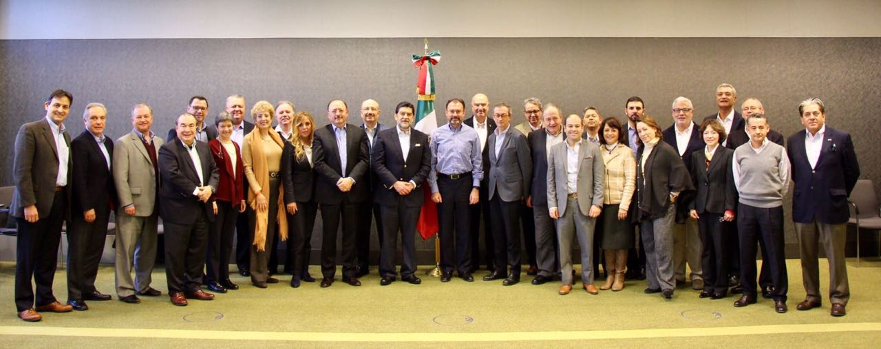 Luis Videgaray se reune con Embajadores y Cónsules de México en Europa
