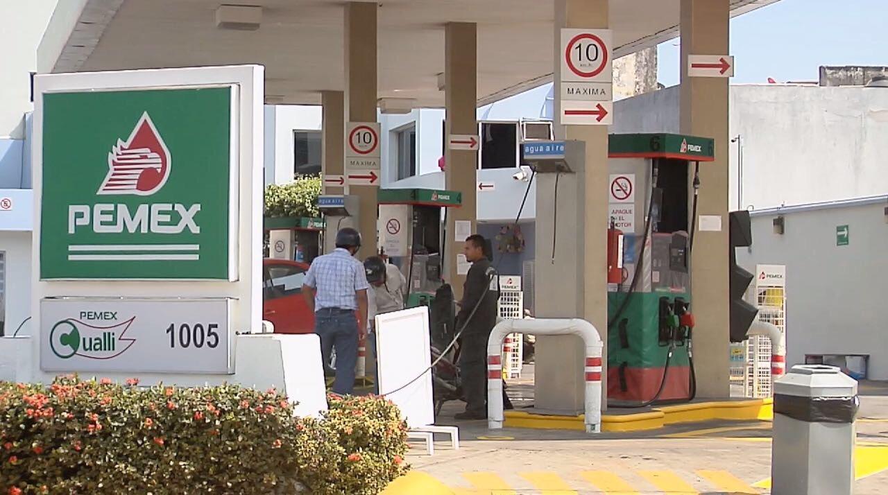 Despiden personal de gasolineras por bajas ventas de combustible