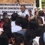 MAYL entrega obras en el municipio de Pánuco
