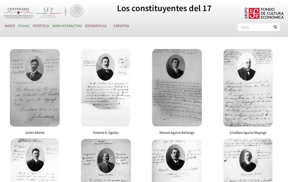 Publican micrositio para conmemorar el centenario de la Constitución de 1917