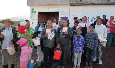 Veracruz beneficiado con precio de leche Liconsa