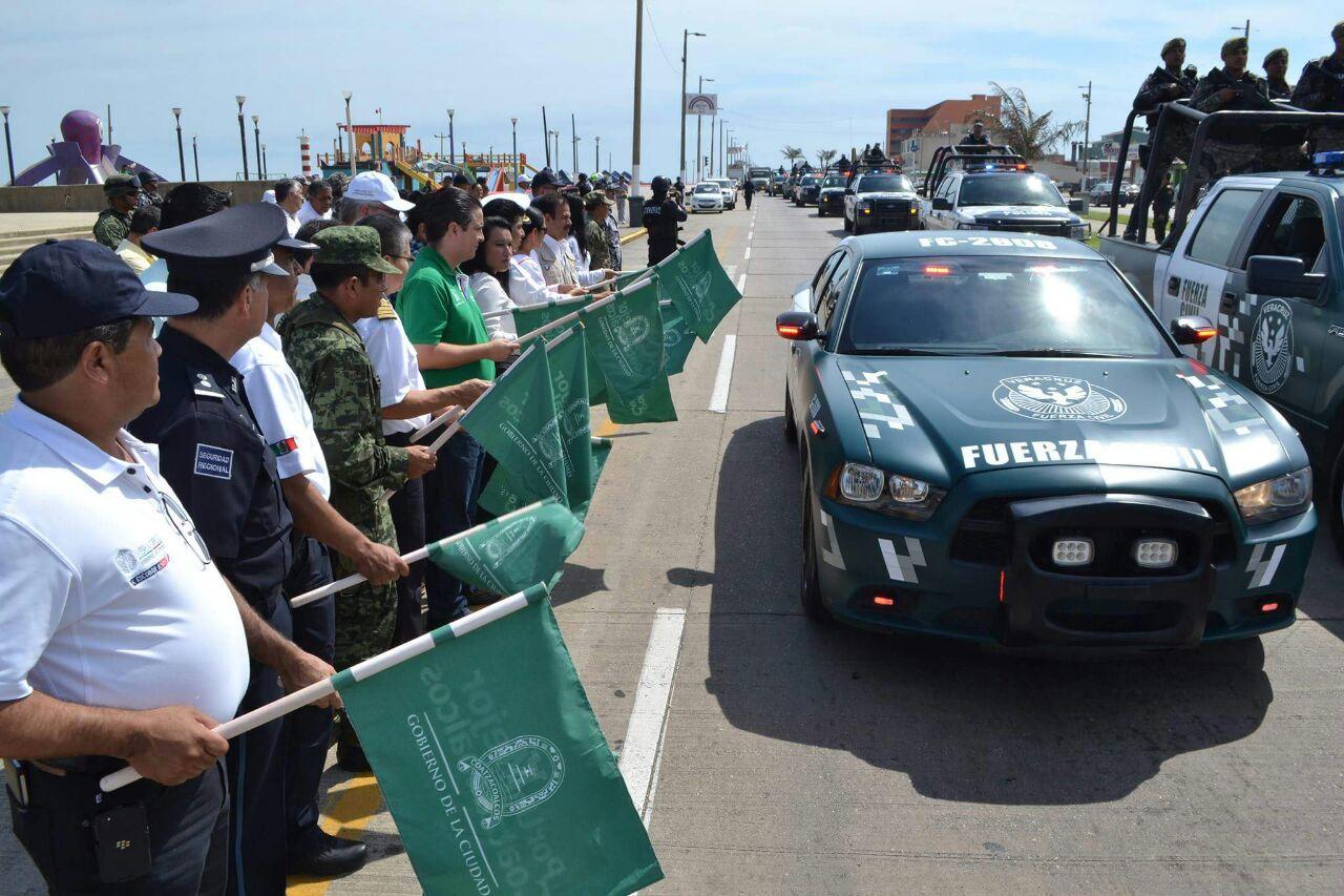 Listo el operativo de seguridad de Semana Santa y Expo Feria en Coatzacoalcos