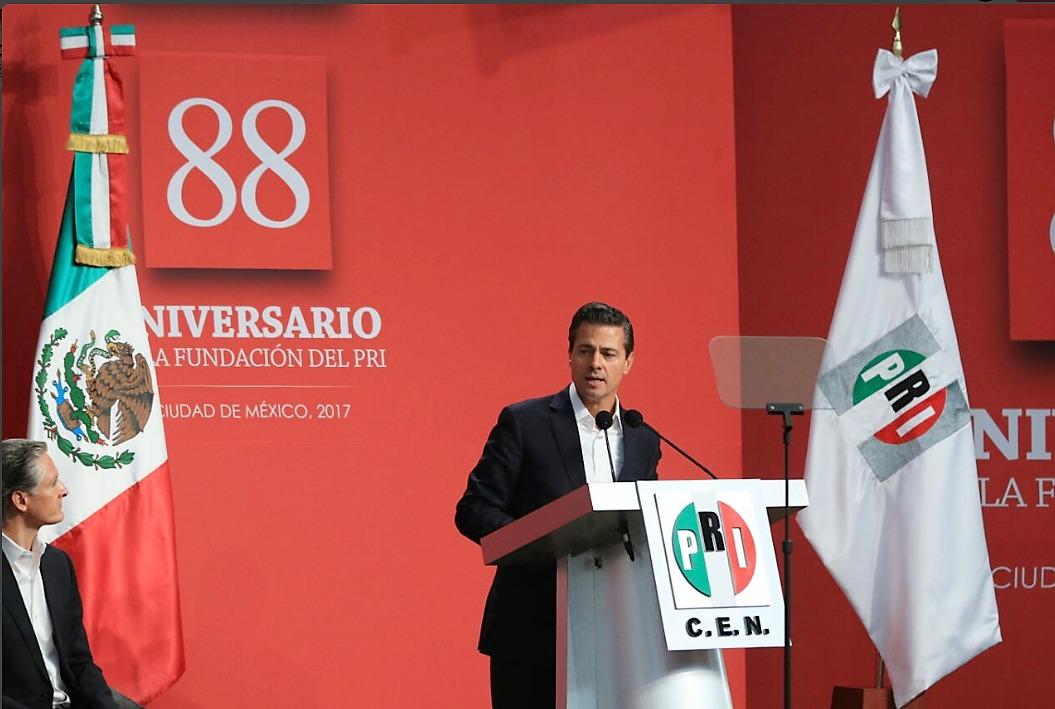 Afirma EPN que el PRI ganará elecciones en Veracruz, Estado de México, Nayarit y Coahuila