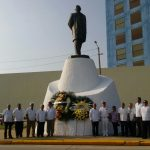 Recuerdan en municipios de Veracruz a Benito Juárez, a 211 años de su natalicio