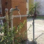 En Fraccionamiento Geo Villas de Veracruz, denuncian que el agua está saliendo sucia