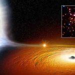 Descubren una estrella orbitando a un agujero negro