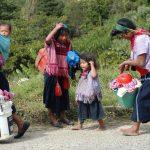 Cáritas de Coatzacoalcos pide víveres y cobertores para indígenas desplazados de Chiapas