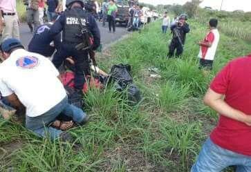 Autobús choca con un árbol en Las Choapas; no hay heridos graves