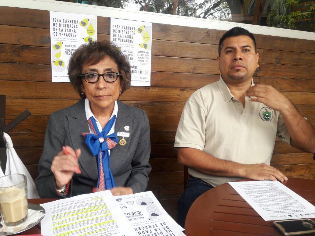 Invitan a la Primera Gran Carrera de Disfraces de la Fauna de Veracruz, en el Parque Natura