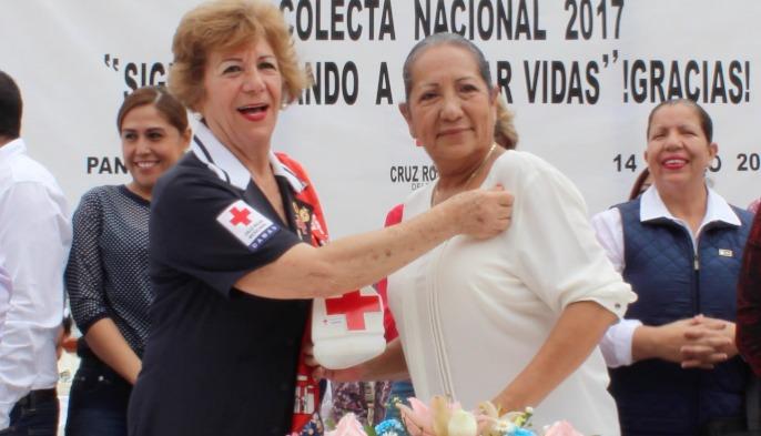 Inicia colecta anual de la Cruz Roja en Pánuco