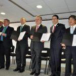 Pemex, Chevron e Inpex suscriben contrato para la exploración y extracción en el Golfo de México