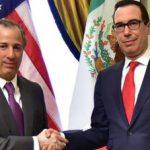 José Antonio Meade se reúne con el secretario del Tesoro de los EUA