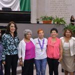 Con Premio a la Mujer 2017, reconoce LXIV Legislatura el trabajo de Patricia Ponce