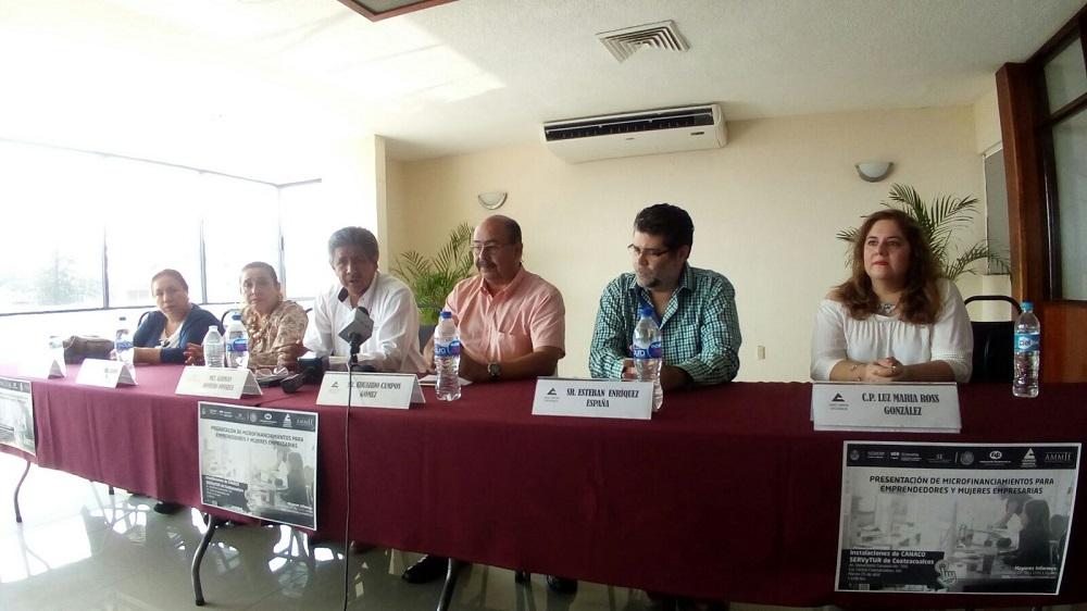 Promoverán créditos para emprendedores y mujeres empresarias en Coatzacoalcos