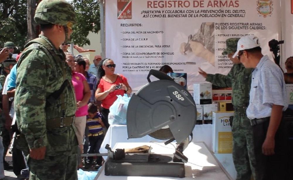 En Pánuco se pone en marcha la campaña de Canje de Armas 2017