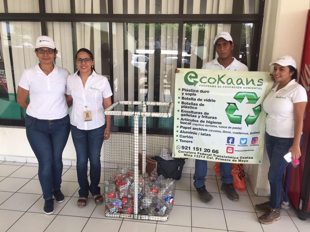 En escuelas, asociación civil Ecokaans orienta sobre la importancia de cuidar el medio ambiente