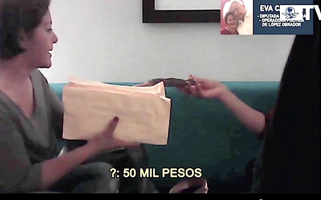 Nuevo video 'hunde' más a Eva Cadena; ella se defiende diciendo que dará nombres de otros 'recaudadores' de Morena
