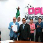 Solicita Antonio Luna su registro como candidato independiente a la alcaldía de Xalapa