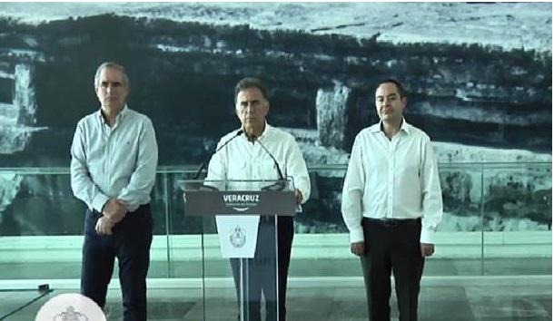 Anuncia el gobernador Yunes importantes obras de infraestructura para Veracruz