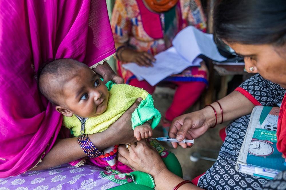 UNICEF es el mayor comprador de vacunas para niños