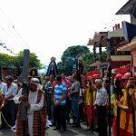 Viacrucis en Actopan, tradición que permite recrear la pasión de Cristo y reafirmar la fe católica