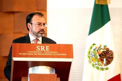 Hay condiciones para lograr buena negociación del TLCAN: Videgaray