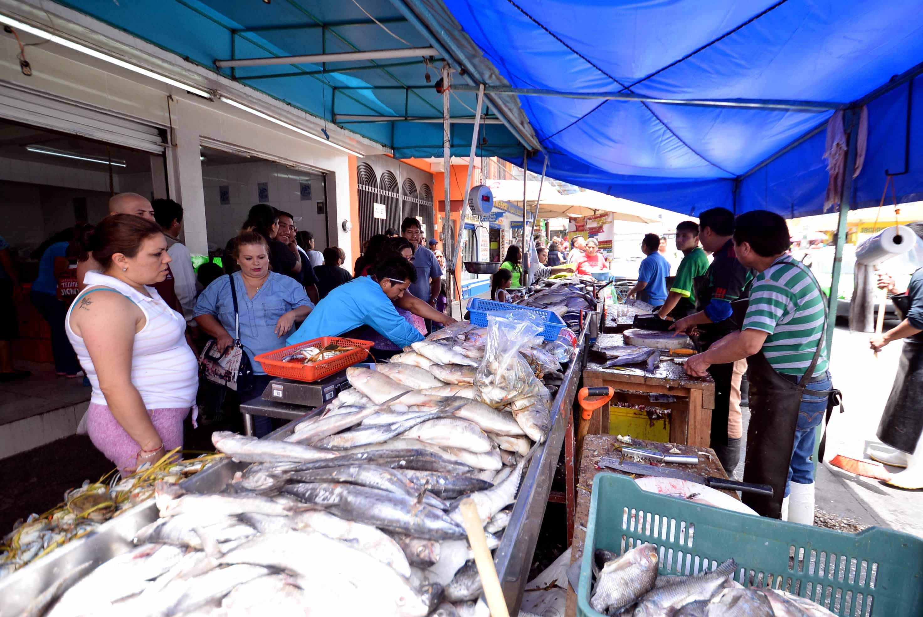 Jurisdicción Sanitaria VIII reforzará vigilancia en venta de pescado y mariscos