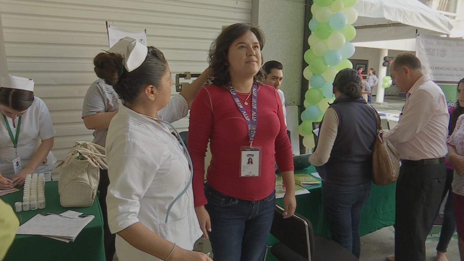 Realiza IMSS Feria de la Salud en RTV