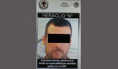 "Capturan Marina y PGR a Heraclio ""N"" con fines de extradición a EU"