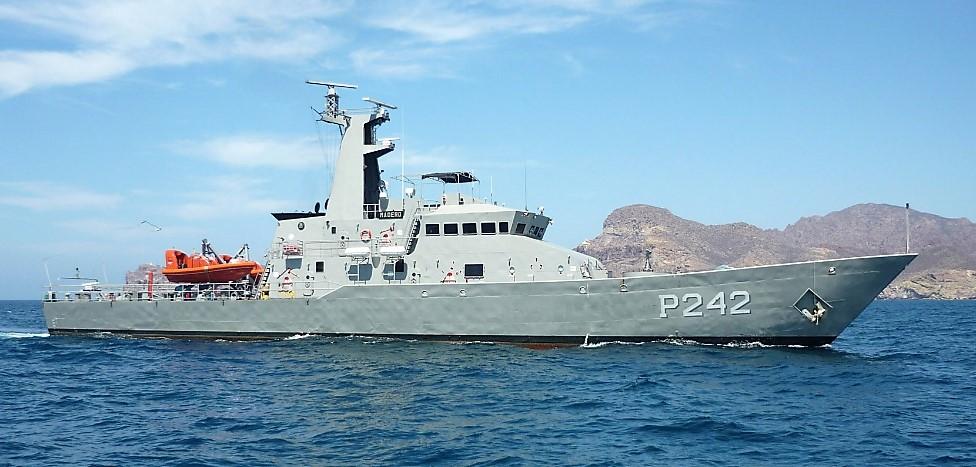 Contará Marina con nueva patrulla oceánica de largo alcance multipropósito