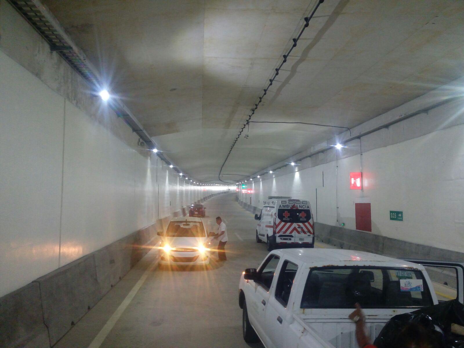 Inaugura el gobernador Yunes el túnel sumergido de Coatzacoalcos