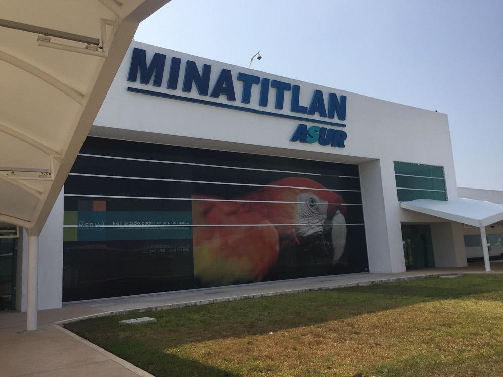 Rehabilitarán pista de aterrizaje del Aeropuerto Internacional de Minatitlán