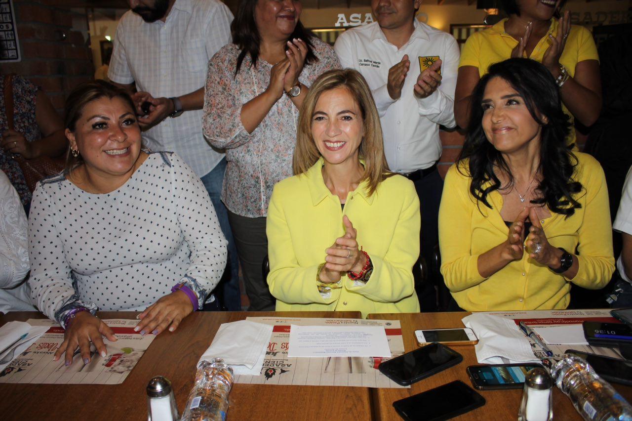 Candidata de Encuentro Social declina en favor de coalición en Xalapa