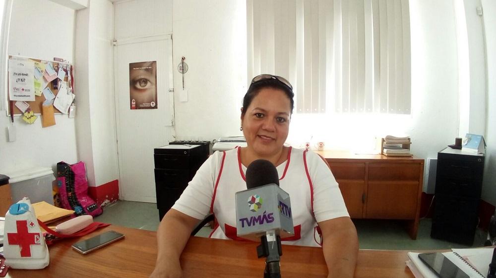 Reporta Cruz Roja Coatzacoalcos lento avance en colecta anual